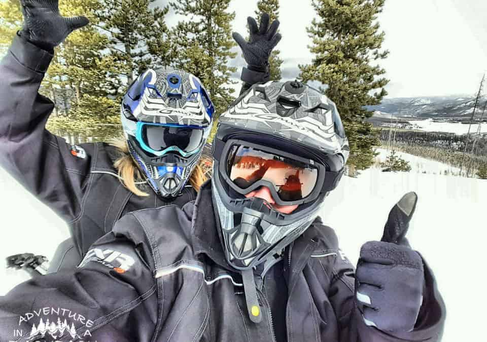 Snowmobiling in Grand Lake Colorado