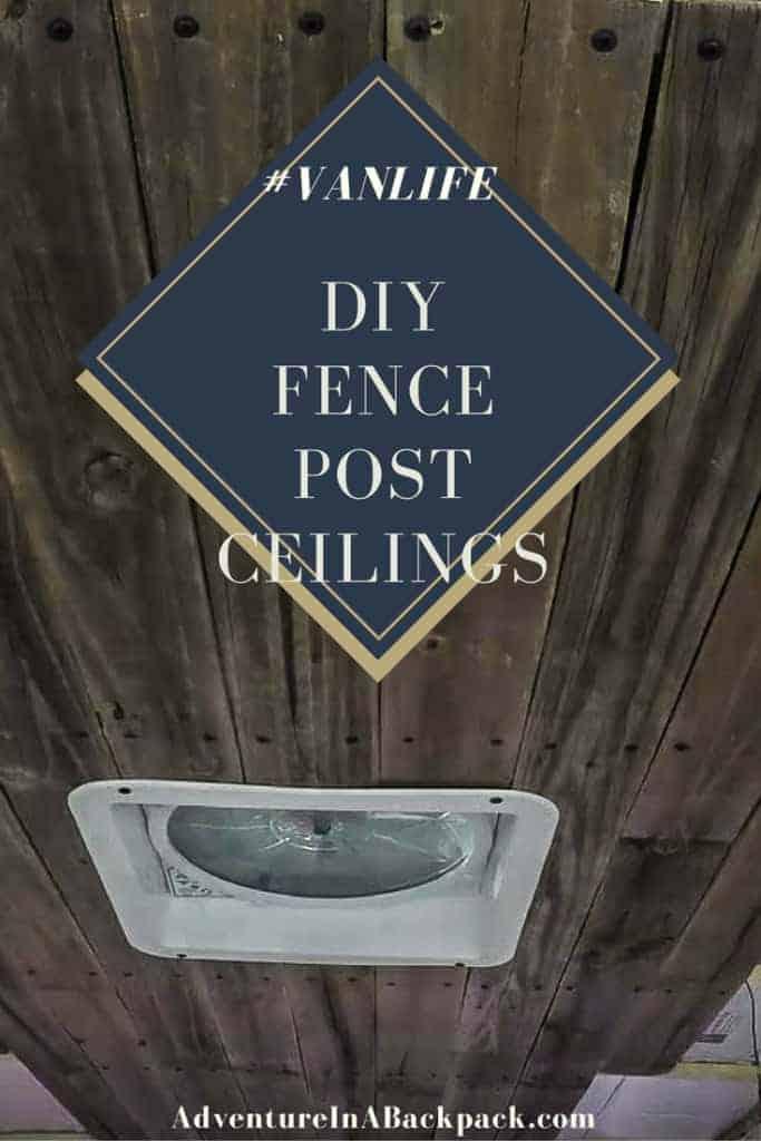 Installing Ceilings DIY Campervan