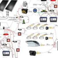 How to Design and Install Solar on a Camper Van | EXPLORIST.life Sprinter Rv Wiring Diagram on