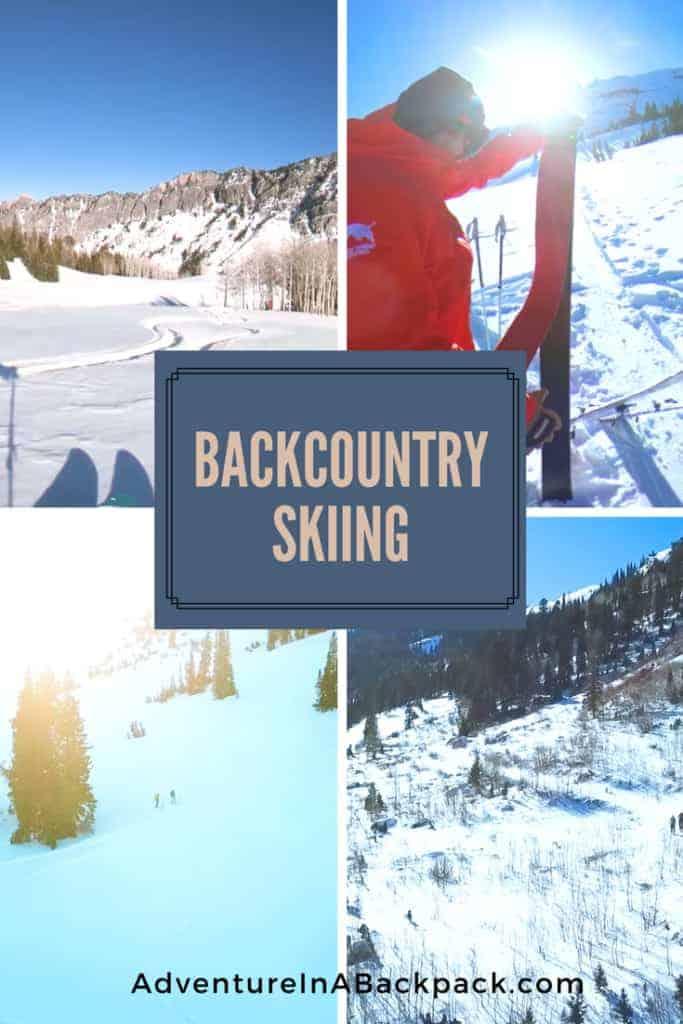 backcountry skiing Wasatch Range