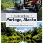 Free Campsite Portage Alaska