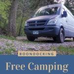 Free Campsite Taos New Mexico