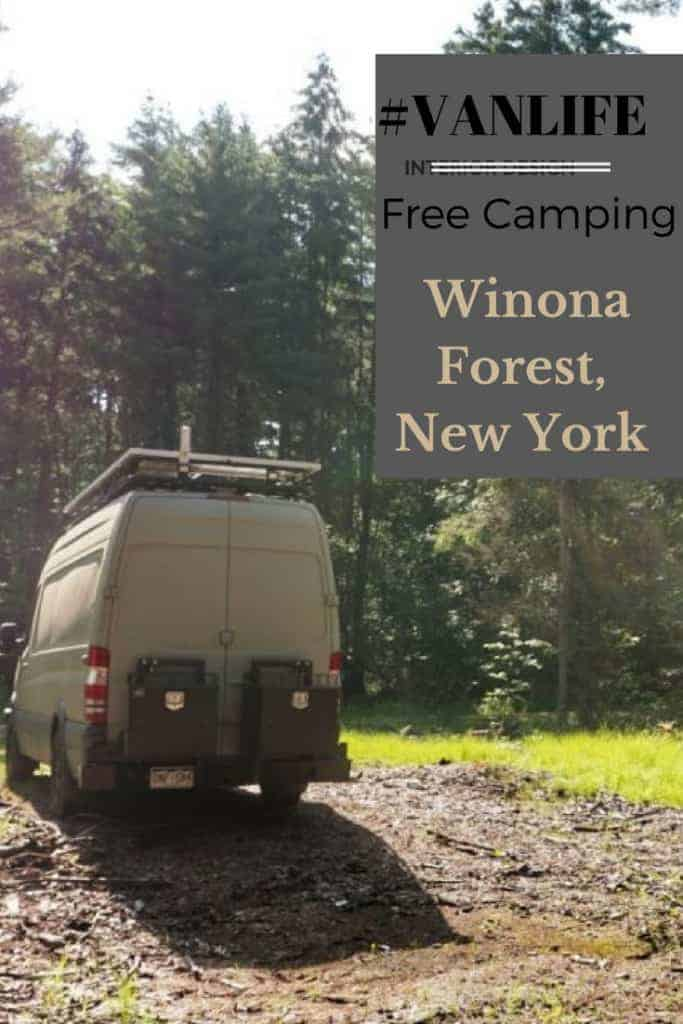 Free campsite New York