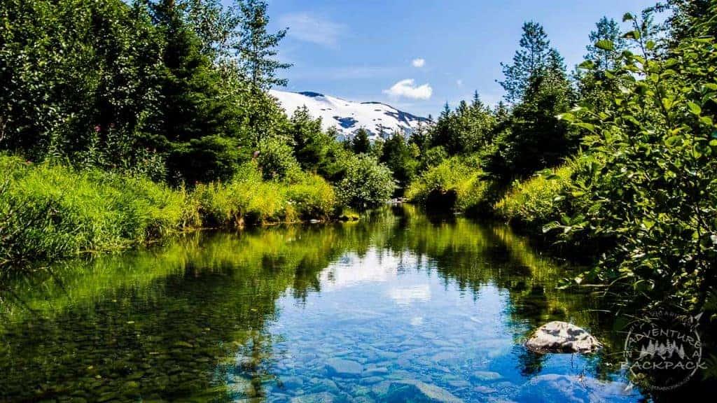 Boondocking Portage Alaska