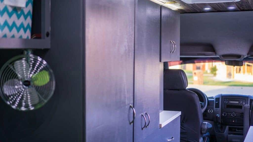 How to build campervan cabinets