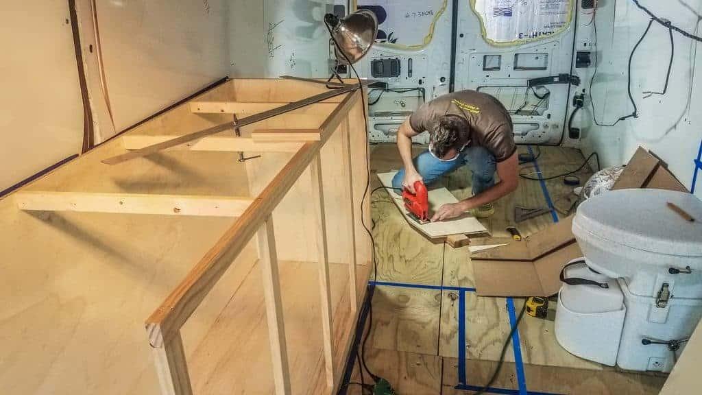 Building DIY Camper Van Cabinets | EXPLORIST life