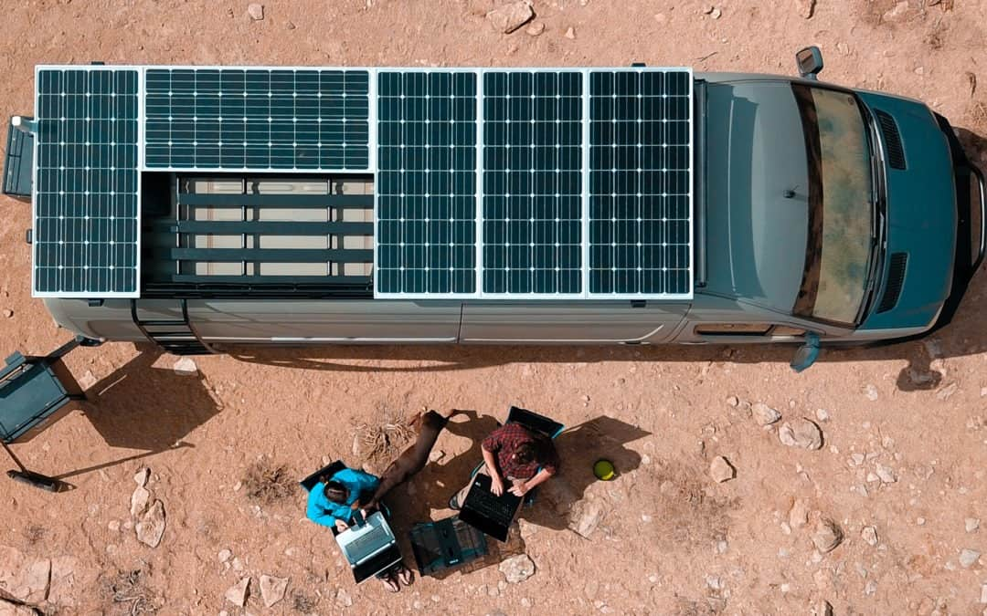 How to Design and Install Solar on a Camper Van