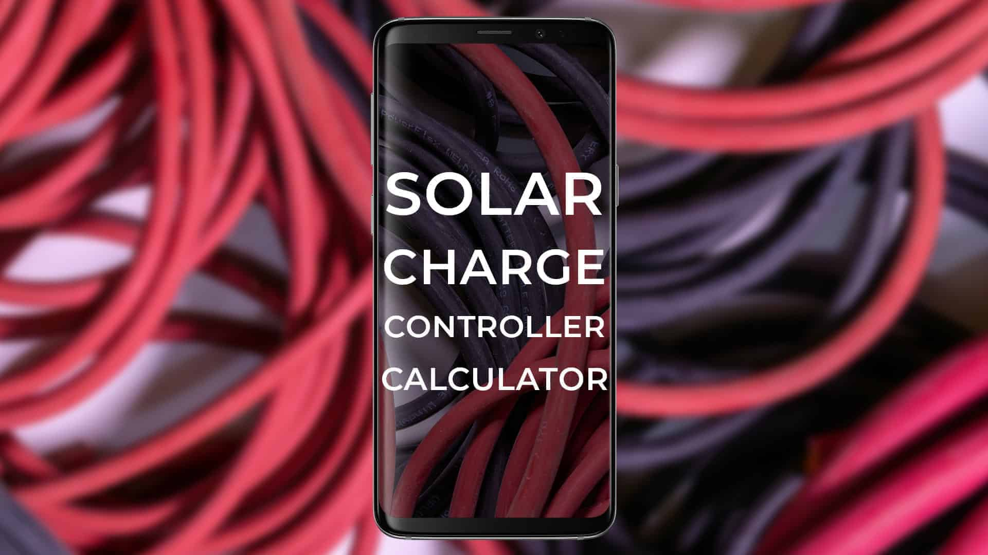 Solar Charge Controller Calculator