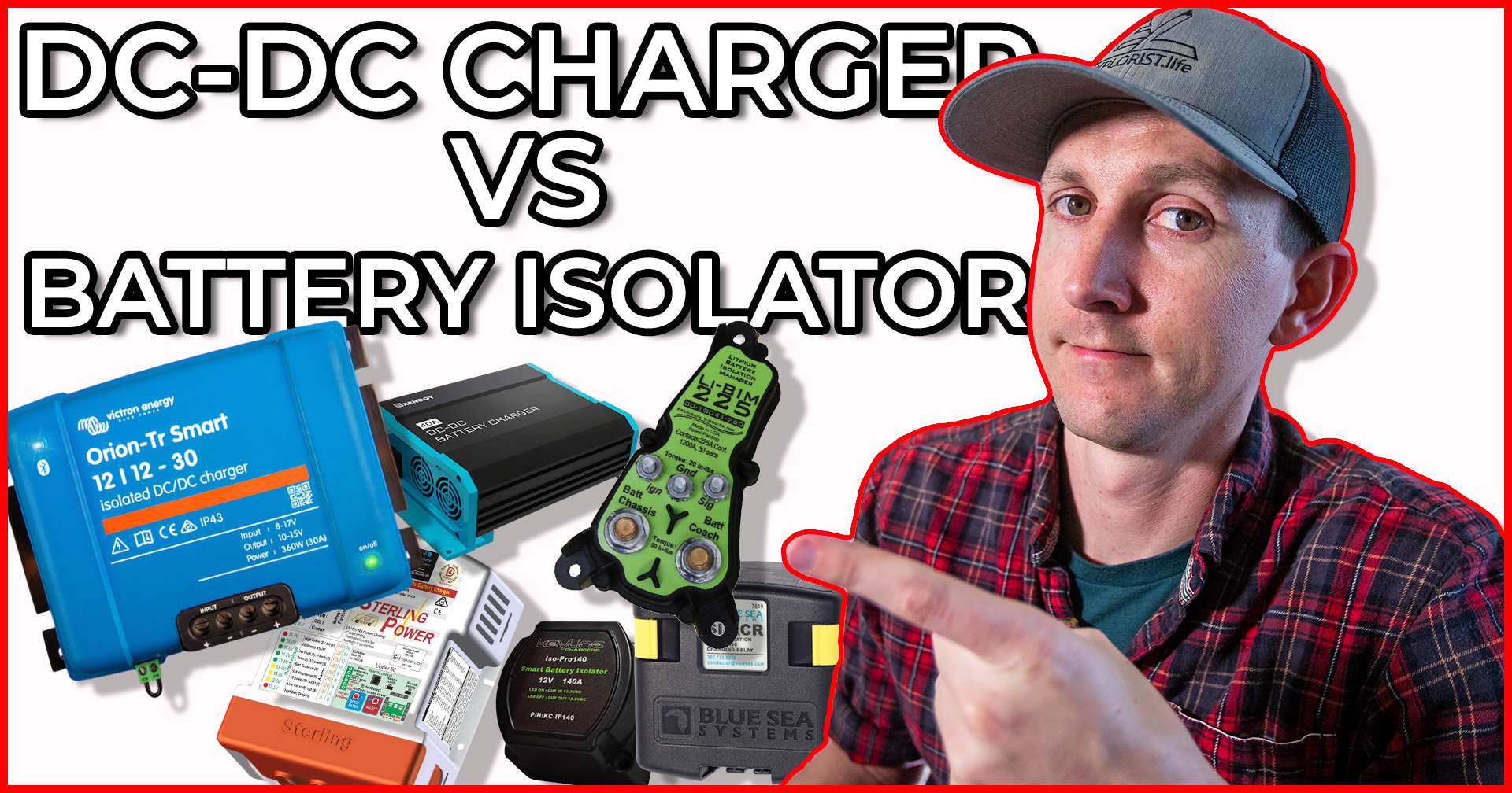 How-to Charge a Camper Van Electrical System with the Alternator