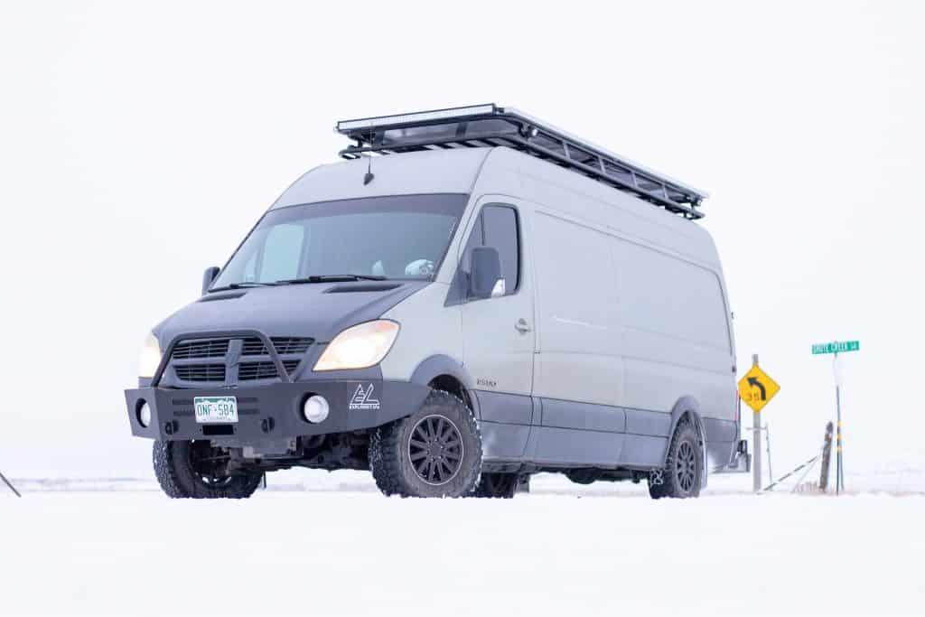 Van Tour | DIY Sprinter Camper Van Conversion | EXPLORIST life