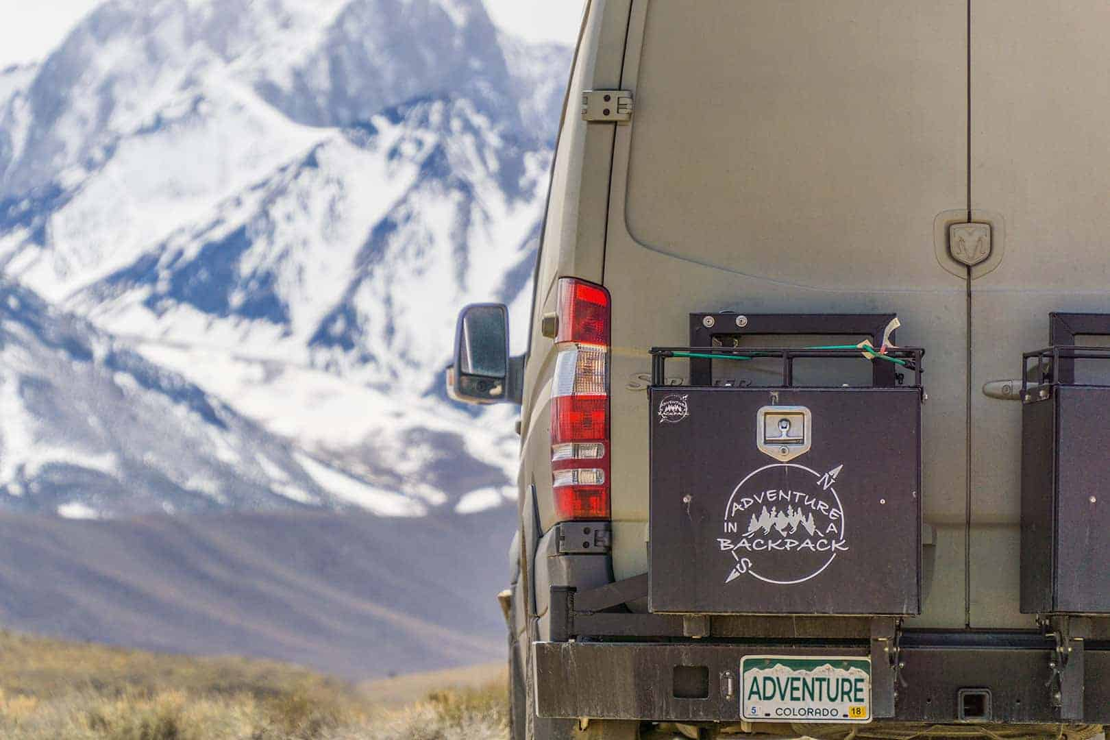Winter Van Life at Mammoth Mountain
