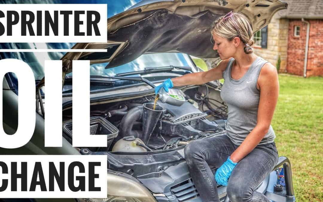 Maintenance 101: Changing Oil in a Sprinter Van