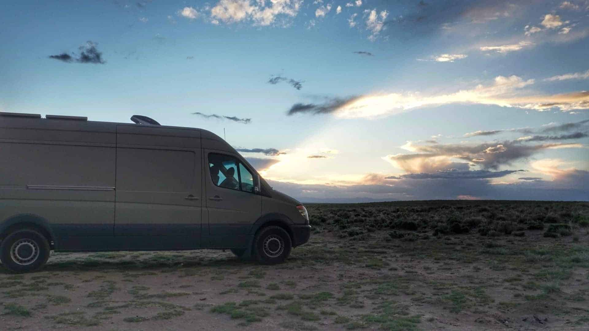 Boondocking Great Sand Dunes National Park 8