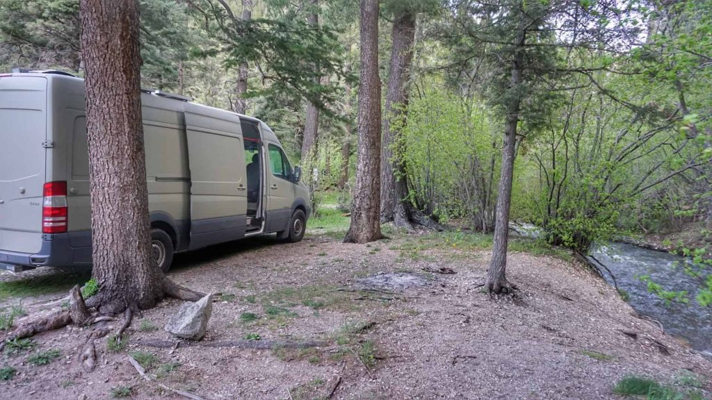 Camping Taos Ski Valley
