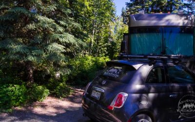 Free Dispersed Campsites and Cheap Campgrounds near Fairbanks, Alaska