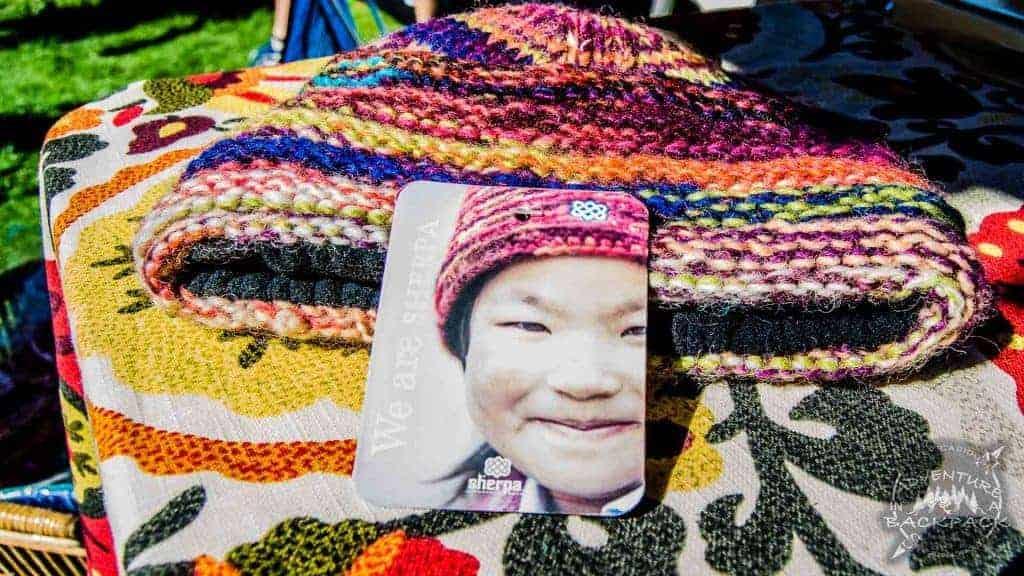 Sherpa Adventure Gear hand knit hats