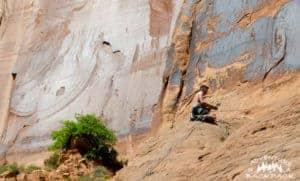 Climbing Wall Street Moab
