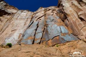 Climbing Wall Street in Moab