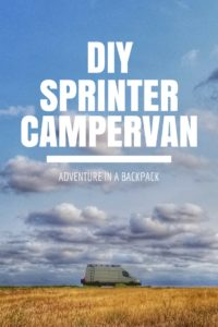 DIY Sprinter Campervan