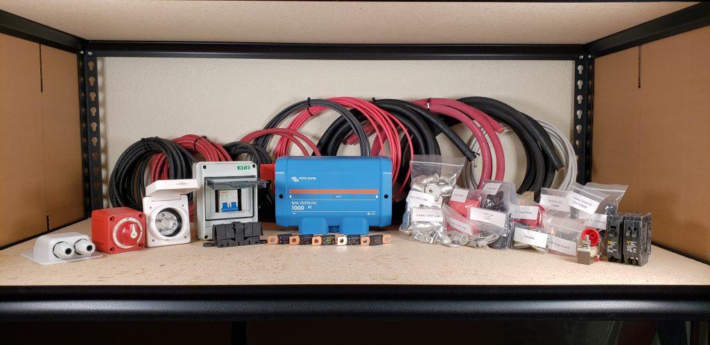 3000w  U2013 150v  U2013 600ah Camper Solar Wiring Kit  U2013 Explorist Life