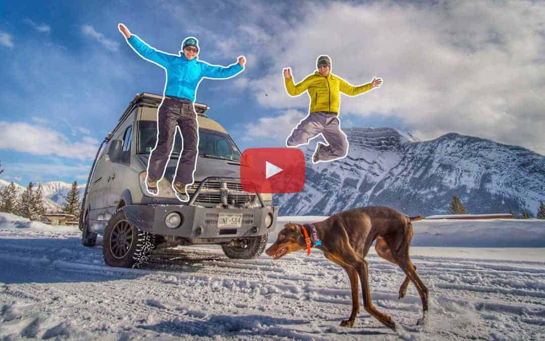 Ep 4 – Banff | Winter Vanlife is More than Skiing Powder