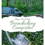 How to find free campsites