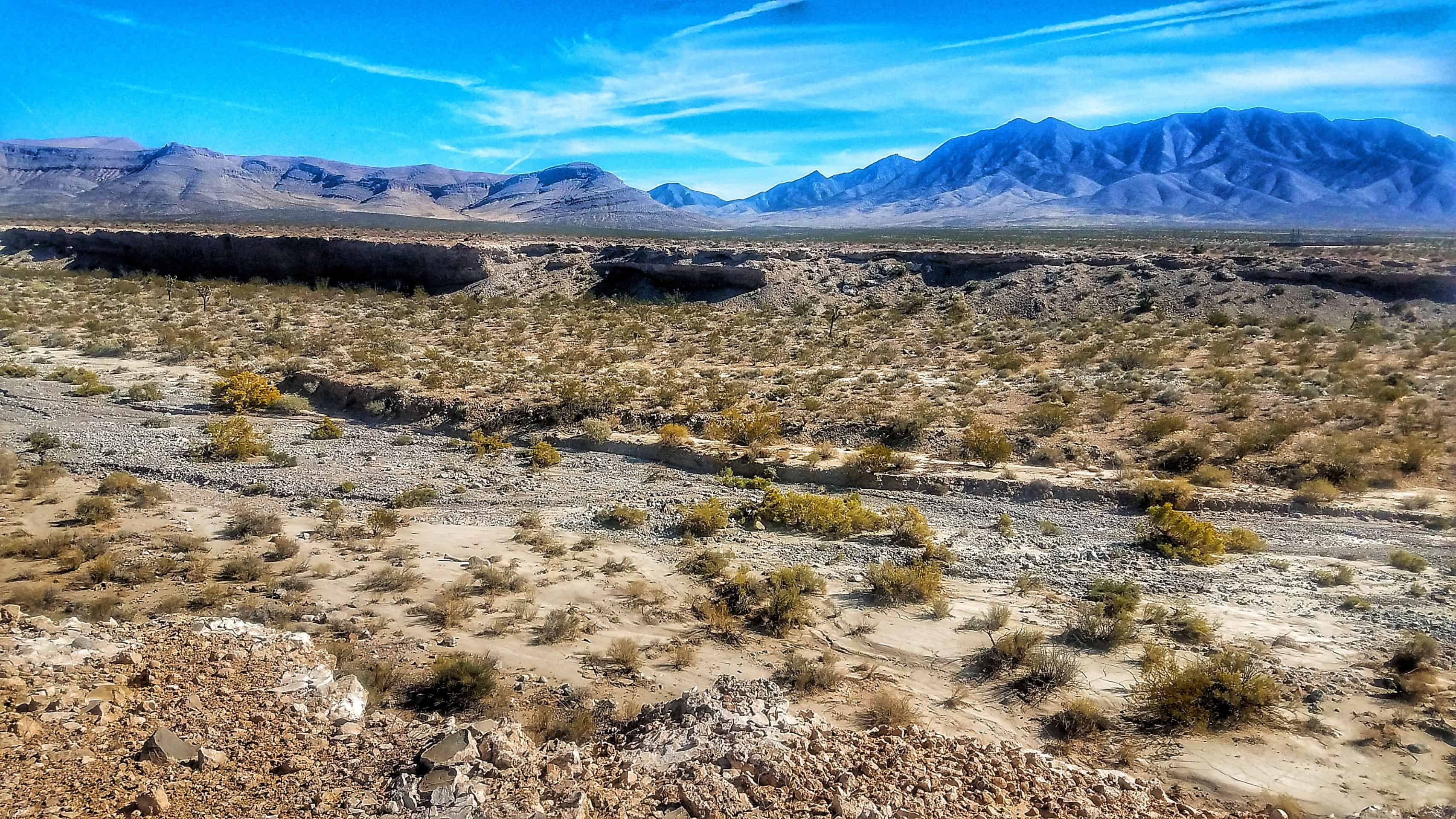 Free Camping Red Rock Canyon