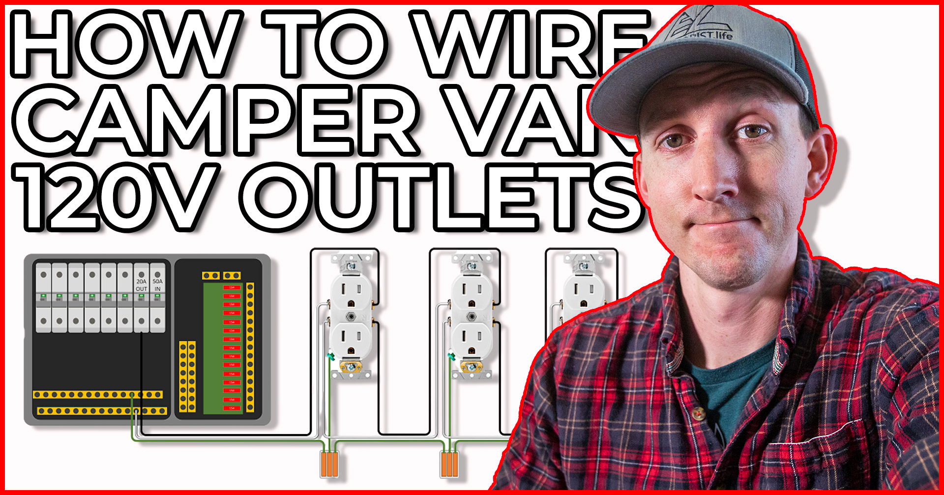 How to Wire 120V AC Circuits in a DIY Camper Van