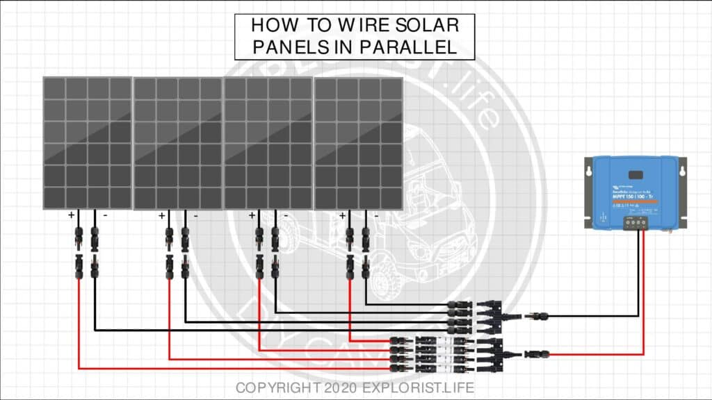 Wiring Solar Panels In Parallel Diagram from www.explorist.life