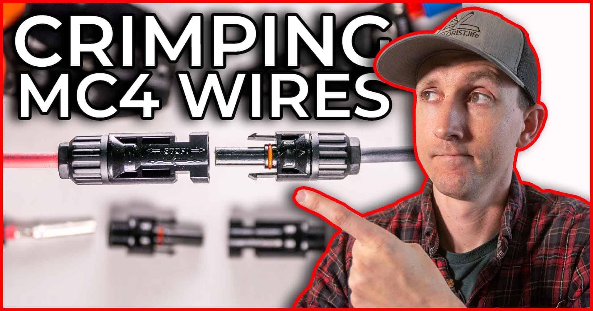 How To Crimp MC4 Connectors