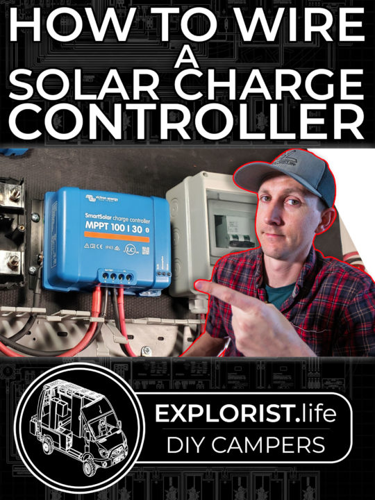 How to Wire a Solar Charge Controller for a DIY Camper Electrical System