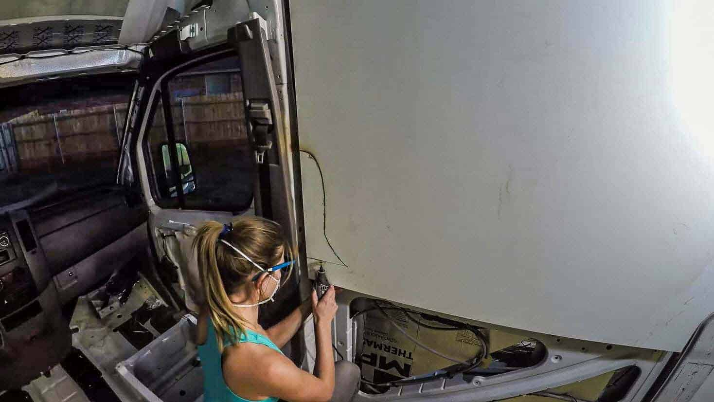 How to Install Walls in a DIY Camper Van Conversion