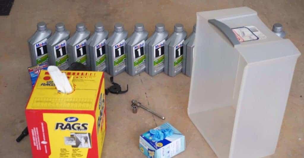 Sprinter Oil Change Kit