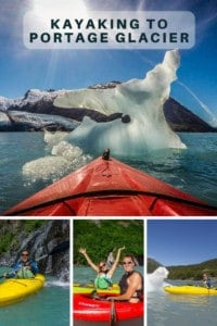 Kayaking Portage Lake Alaska