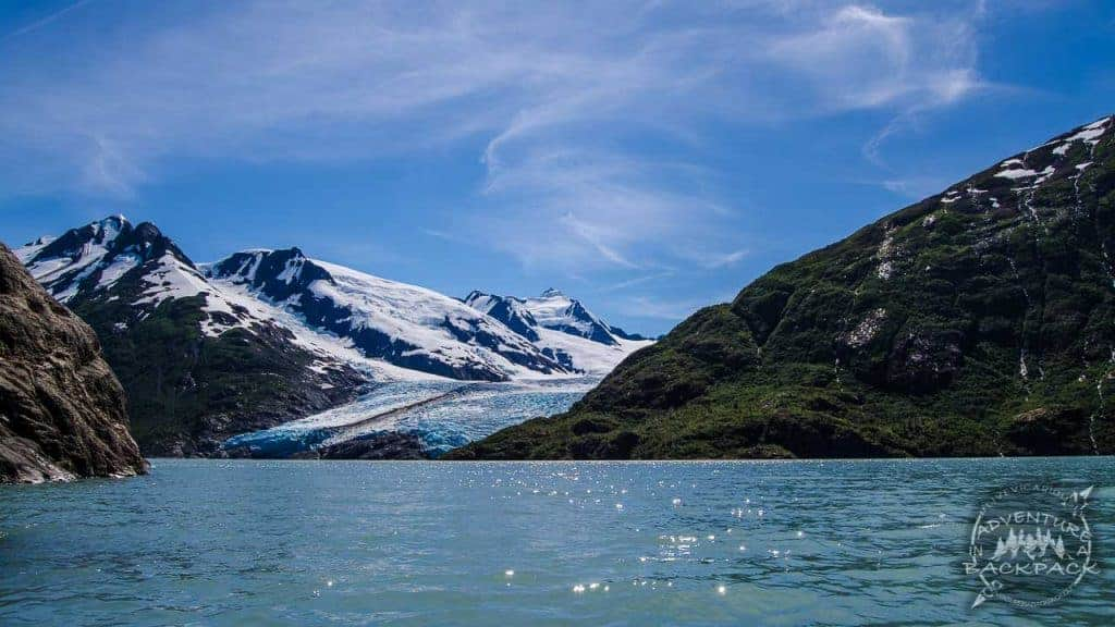 Kayaking to Portage Glacier