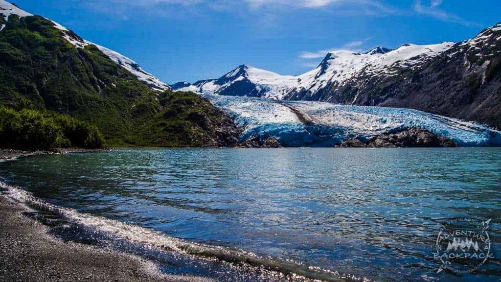 Portage Glacier Viewpoint