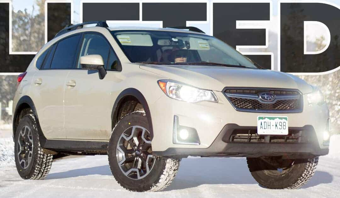 How to Install a Lift Kit on a Subaru Crosstrek