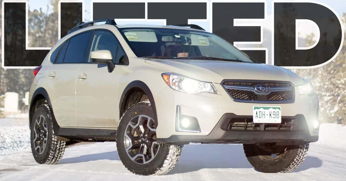 How to Install a Lift Kit on a Subaru Crosstrek