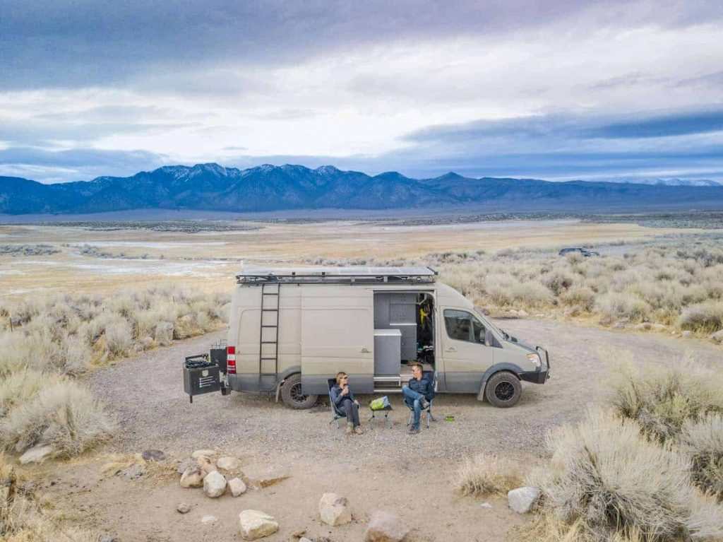 Free Camping near Mammoth Mountain