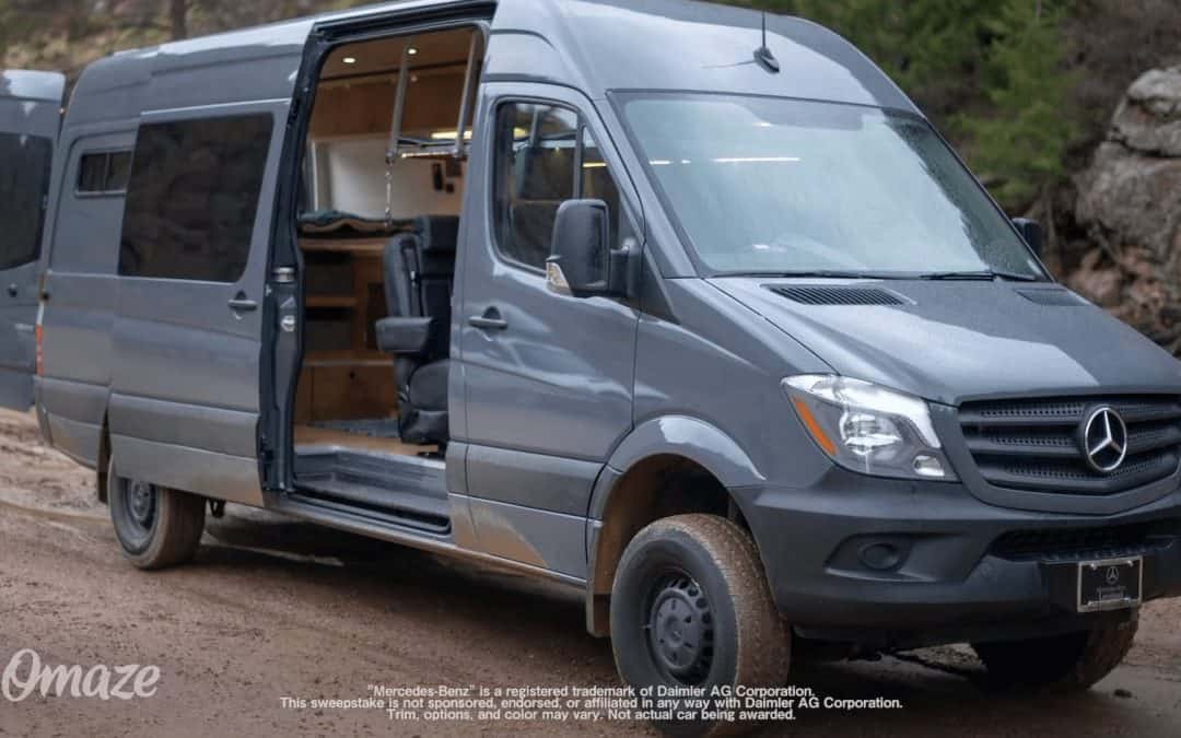 Win A 4×4 Sprinter Camper Van
