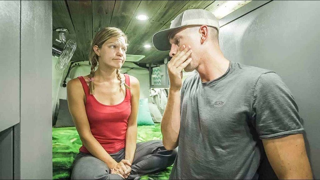 Our #vanlife story why we live in a van