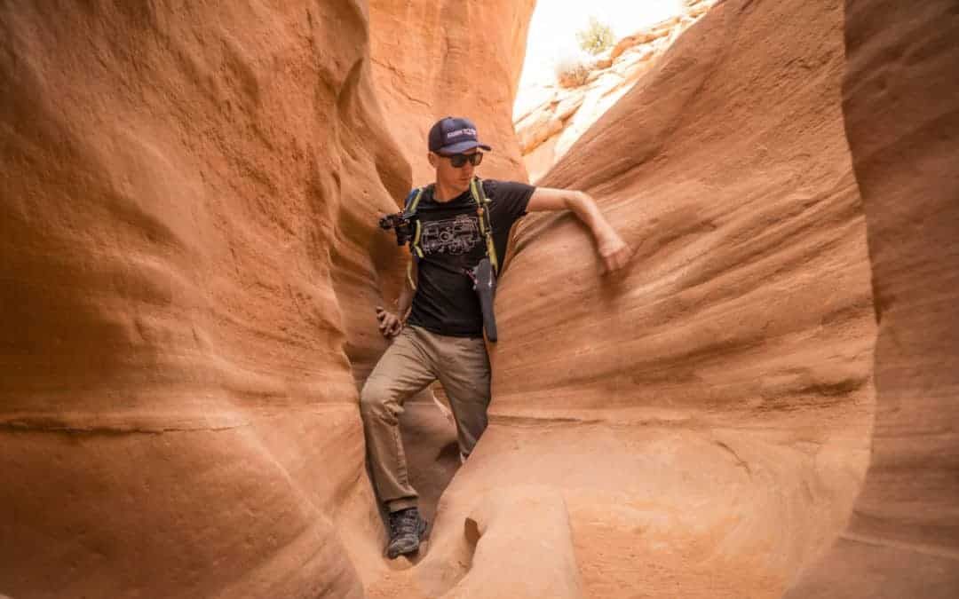 Hiking the Peek a Boo and Spooky Gulch Slot Canyons near Escalante Utah