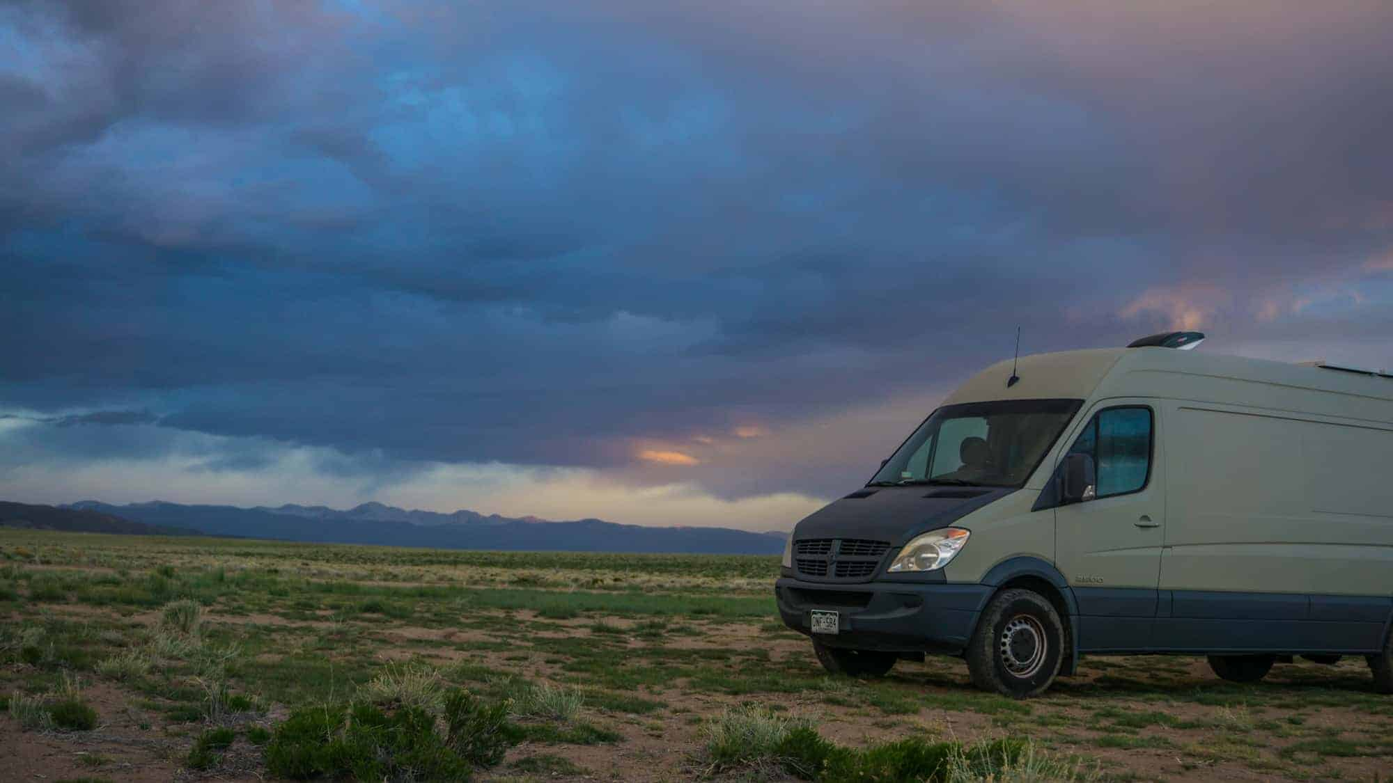 Free Dispersed Camping Near the Great Sand Dunes National Park, Colorado