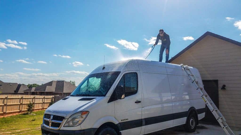 Van Tour   DIY Sprinter Camper Van Conversion   EXPLORIST life