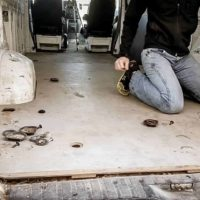 How to Prep the Floor for a DIY Camper Van Conversion