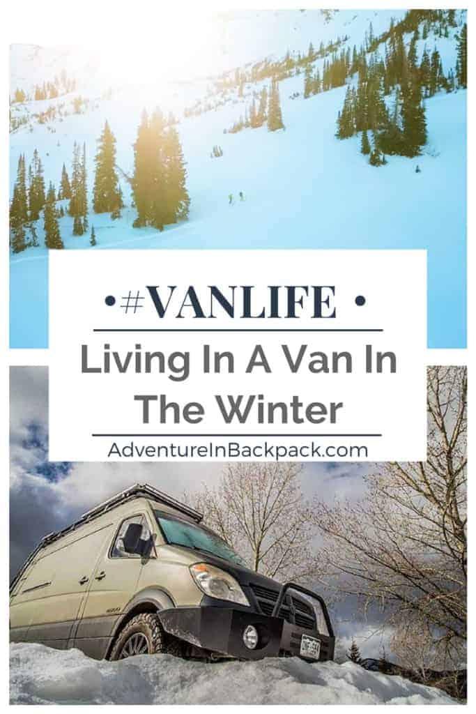 Preparing for winter van life