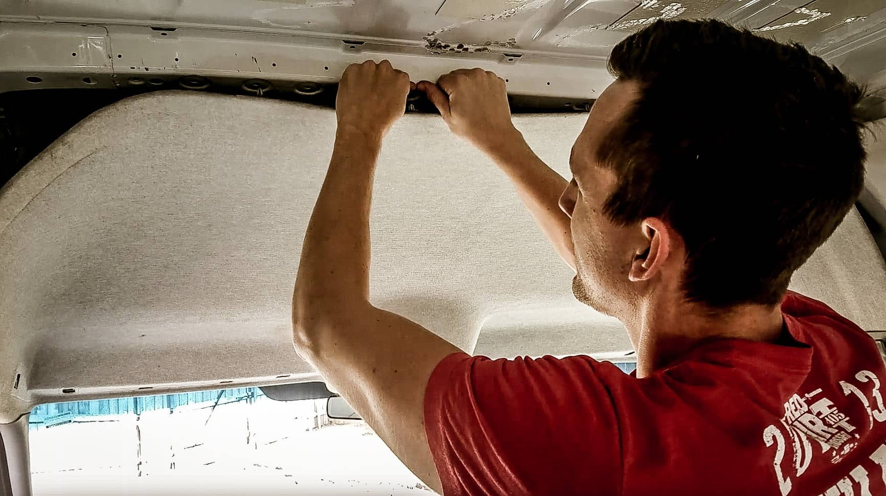 How to Remove the Headliner in a Mercedes Sprinter