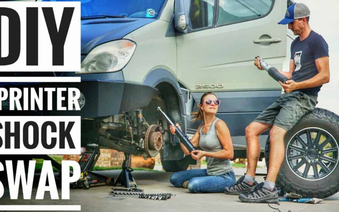 Sprinter Maintenance: Replacing Shocks