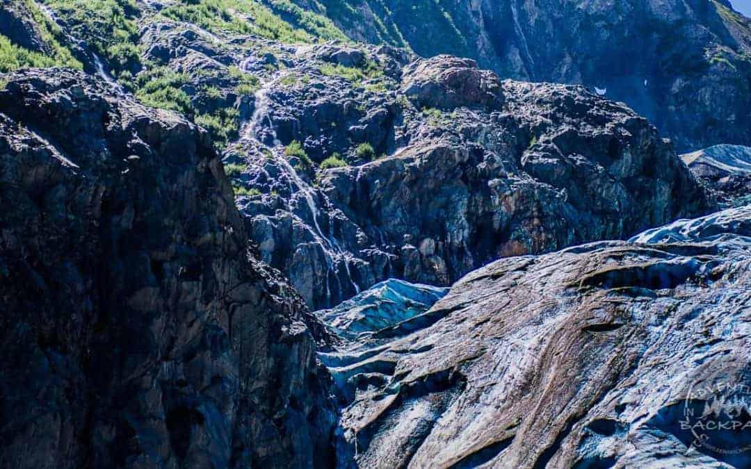 Exit Glacier Trail Hiking near Seward, Alaska