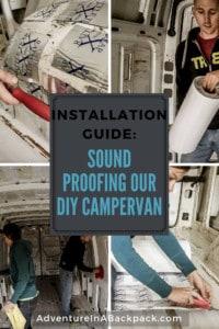 Sound Proofing a campervan